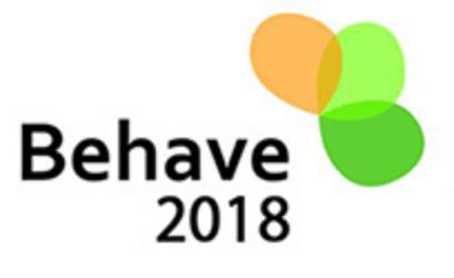 Conferência BEHAVE 2018, 5.set.2018
