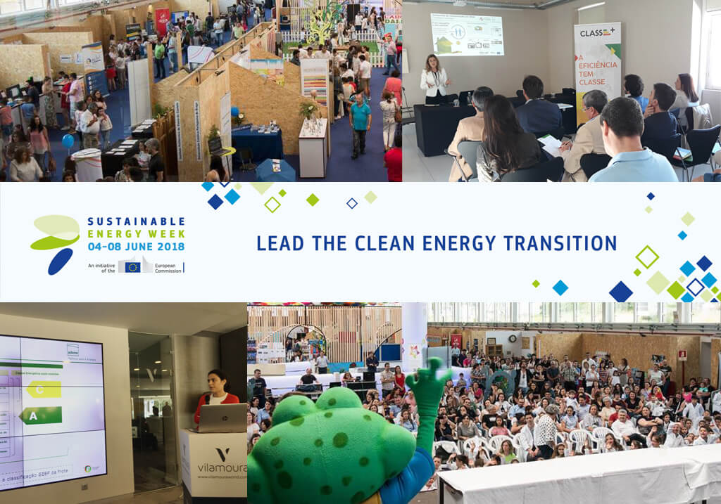 EUSEW 2018 Energy Days com 30 eventos em Portugal