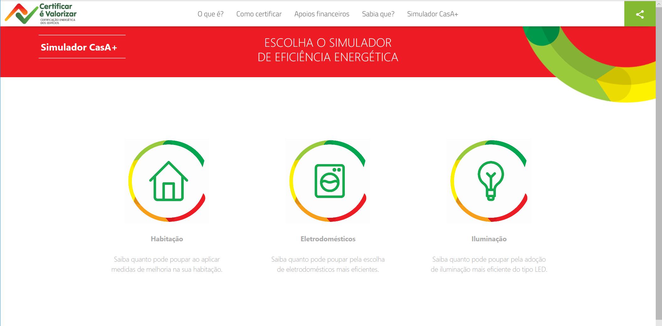 """ADENE lança o """"simulador casA+"""