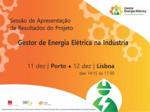 """ADENE promove Sessão de Apresentação de Resultados do projeto """"Gestor de Energia Elétrica na Indústria"""""""