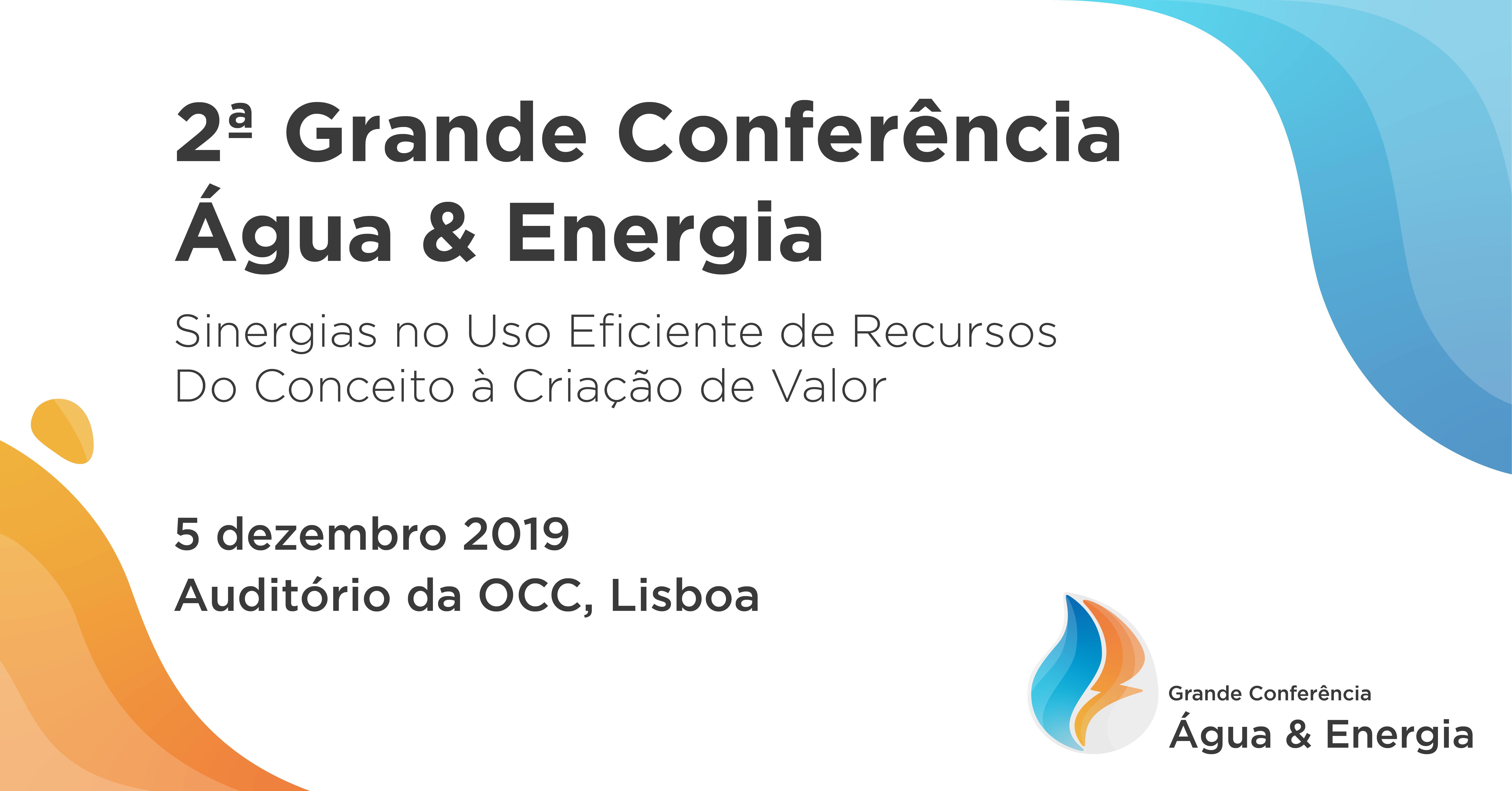 2ª Grande Conferência Água & Energia