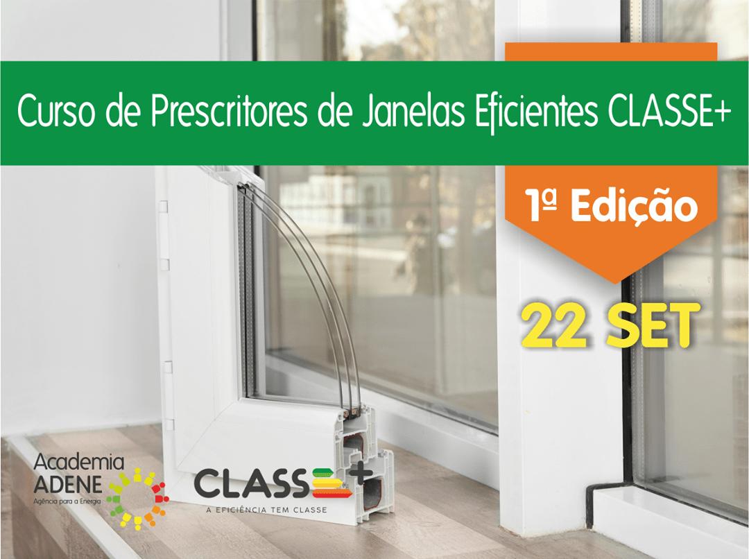 ADENE lança 1º curso CLASSE+ de Prescritores de Janelas Eficientes