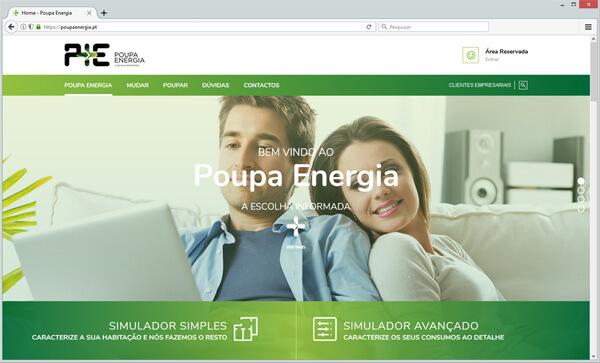 site Poupa Energia